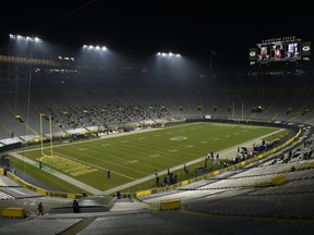 The road to the NFC championship could go through a chilly  Lambeau Field, home of the Green Bay Packers.