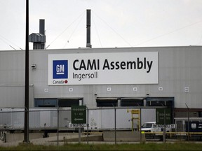 General Motors announced late Friday that they would invest $1 billion at their Ingersoll plant and add a new electric vehicle to the mix.