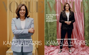 This week's tempest in a teapot concerns a Vogue magazine cover photo of Vice President-elect Kamala Harris, writes Liz Braun.