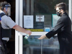 Security guards have been manning the front door throughout the COVID-19 pandemic and should be vaccinated at the same time as other essential workers, the United Food and Commercial Workers (UFCW) union says.