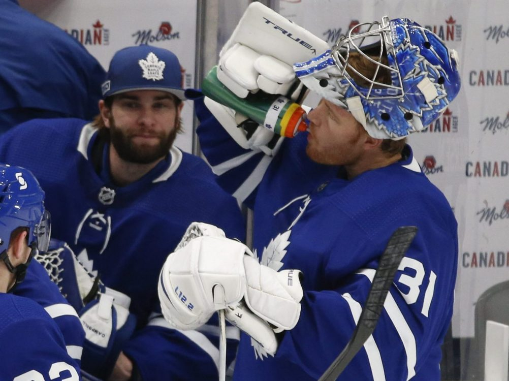 Eventful day for Leafs roster ends in win