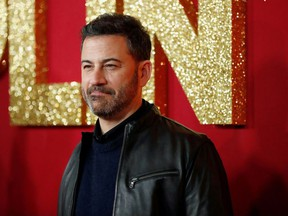 Television host Jimmy Kimmel poses at a premiere for the movie Dumplin' in Los Angeles, California, U.S., December 6, 2018.