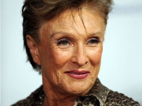 """Actress Cloris Leachman arrives at the premiere of """"The Women"""", September 04, 2008 in Westwood, California."""