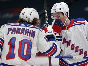 Rangers' Alexis Lafreniere and teammate Artemi Panarin haven't had great seasons. Panarin has taken a leave of absence and Lafreniere has two points in 16 games.