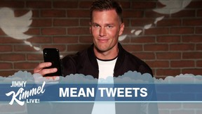 Tom Brady read Mean Tweets about himself ahead of Super Bowl 55.