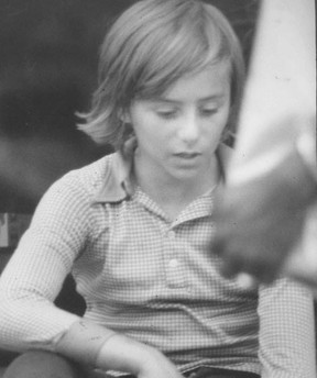 Shoeshine boy Emanuel Jaques in the days before his horrific 1977 murder.