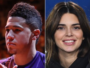 Devin Booker and Kendall Jenner.