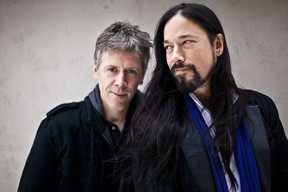 (Left to right) Strippers Union singer Craig Northey (The Odds) and guitarist Rob Baker (The Tragically Hip), whose latest double album, The Undertaking, is being released in two parts on Feb. 5 and March 12.