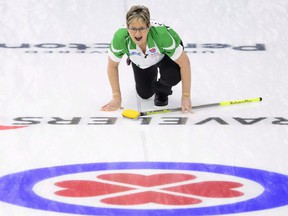 "Sherry Anderson Anderson, a two-time world senior women's champion, contracted COVID-19 at a bonspiel in Regina in November. She got sick with what she said felt like a ""bad flu,"" with fever, headache and chills keeping her in bed for a few days. Postmedia photo"