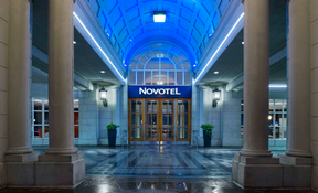 The Novatel Toronto Centre, on The Esplanade, is the latest hotel to be leased by the City of Toronto to house homeless during the COVID-19 pandemic.