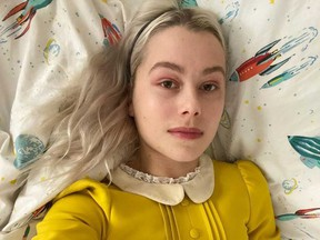 Phoebe Bridgers is pictured in a photo recently posted on her Instagram account.