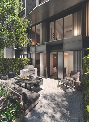 MOD Developments has launched a collection of 10 luxury townhomes at  55C Bloor Yorkville Residences. Beginning at $1.3 million, the units average between 1,009 and 1,684 sq ft, with two-storeys of living space. SUPPLIED