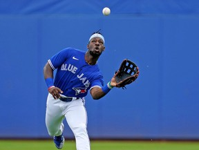 As he battles for Blue Jays out…