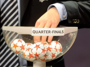 The quarterfinal matchups for the UEFA Champions League will be determined on March 19, 2021.