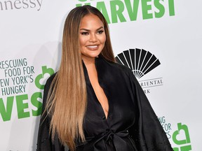 Chrissy Teigen attends City Harvest: The 2019 Gala on April 30, 2019 at Cipriani 42nd Street in New York.