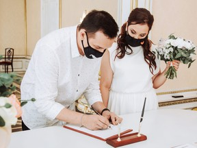 A new study has revealed the financial cost of cancelled and postposed weddings due to the pandemic.