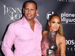 Jennifer Lopez and Alex Rodriguez are seen in this 2018 file photo.