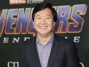 """Ken Jeong attends the Los Angeles World Premiere of Marvel Studios """"Avengers: Endgame"""" at the Los Angeles Convention Center on April 23, 2019 in Los Angeles."""