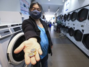 Nancy Seto who runs and owns Yummi Cafe Laundromat at Oakwood Ave. and St. Clair Ave. W. has created the Free Laundry Access Program for people suffering monetary loss through COVID. She created a GoFundMe page asking only for $1,000 and it is already at $6,263 as of Monday morning.