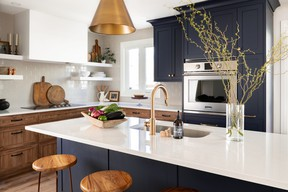 Kitchen renovation like this one by designer Sascha Lafleur of West of Main Design is the home improvement that resonates most with homeowners. SUPPLIED