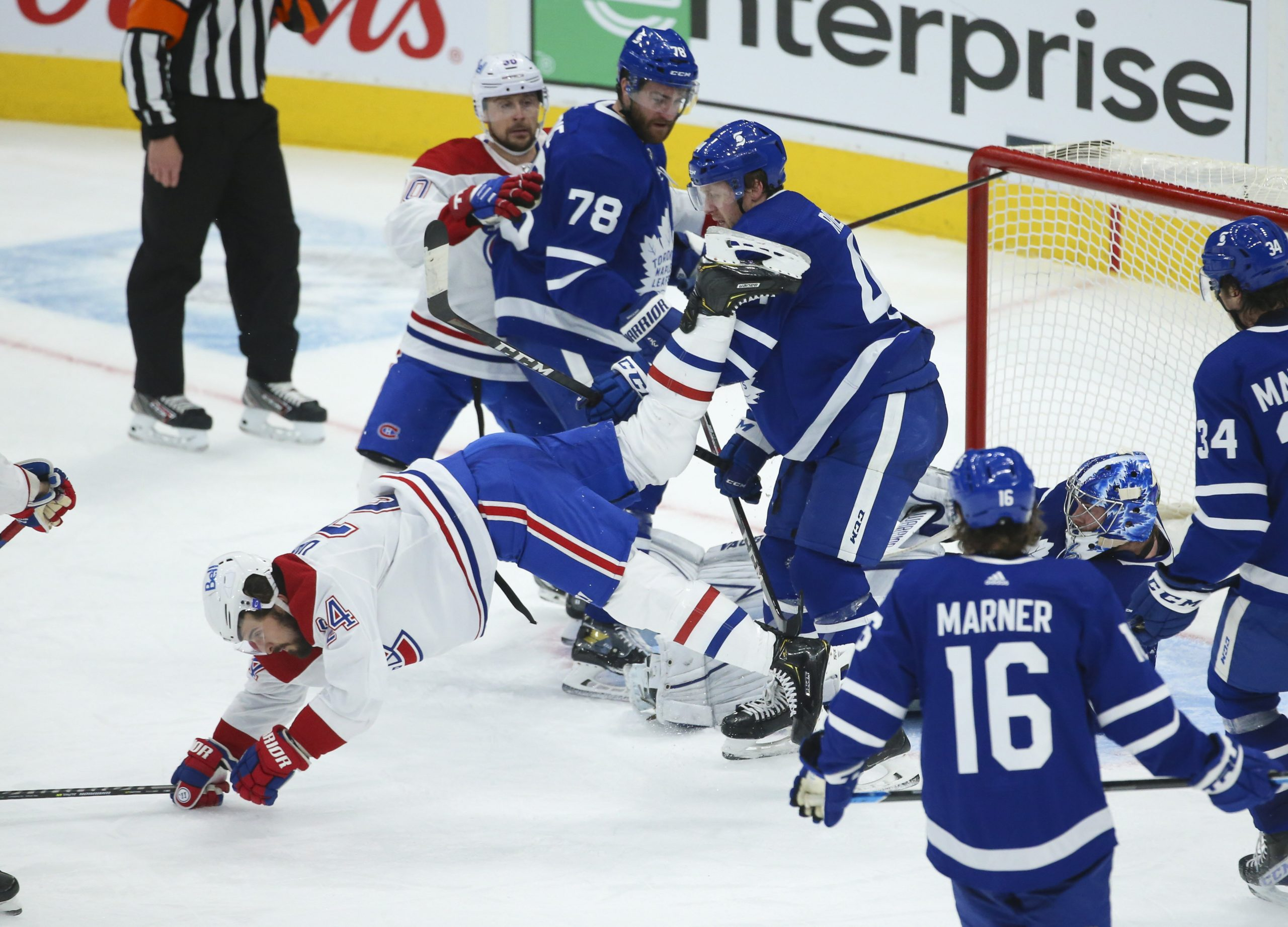 PERFECT 10: Campbell sets franchise record as Maple Leafs outlast Habs