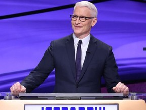 Anderson Cooper is ready to make his debut as guest host of Jeopardy!