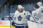 Maple Leafs winger William Nylander joined the team on its flight to Vancouver for his planned return to game action Sunday. Nylander was back on the ice Friday after finishing a nine-day COVID protocal quarantine.