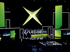Head of Microsoft Xbox Phil Spencer speaks during the Microsoft Xbox E3 2017 media briefing in Los Angeles, Calif., June 11, 2017.