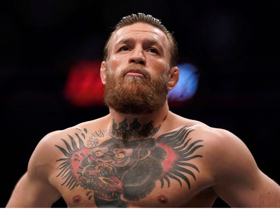 'HIT HIM IN THE MOUTH': Conor McGregor gives son fighting advice
