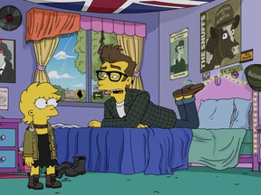 "Benedict Cumberbatch voices an indie singer from 1980s Britain in the most recent episode of ""The Simpsons."""