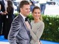 Tom Brady and Gisele Bundchen at the Metropolitan Costume Institute Benefit Gala May 2, 2017 in New York.