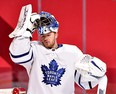 Frederik Andersen will begin his anticipated conditioning stint by playing a half-game with the AHL Marlies on Thursday afternoon.