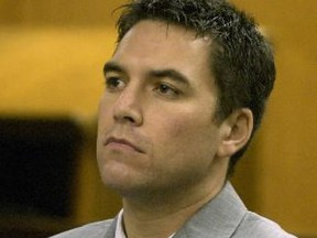 Scott Peterson is pictured in a California courtroom on Jan. 23, 2004.
