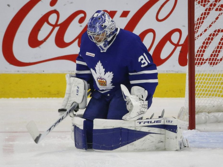 Keefe: Maple Leafs' plan is for Andersen, out since March 19, to start in Ottawa