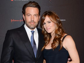 In this Nov. 19, 2014 file photo, Ben Affleck and Jennifer Garner attend the 2nd Annual Save the Children Illumination Gala in New York.