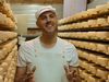 Master cheese maker Afrim Pristine in one of the episodes for his new food series on Food Network Canada.