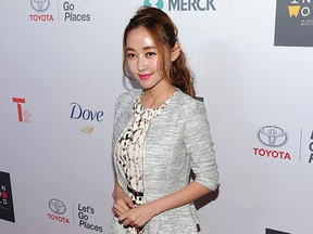 Human rights activist Yeonmi Park attends the Women In World Summit at the David H. Koch Theater at Lincoln Center on April 22, 2015 in New York City.