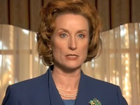 """Actress Lisa Banes as Headmistress Elsa Higgins in 2009 movie """"Legally Blondes""""."""