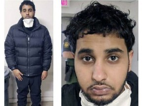 Naseem Ali Mohammed. photographed while being detained recently by the U.S. Border Patrol.