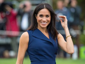 Meghan, Duchess of Sussex attends a reception at Government House on October 18, 2018 in Melbourne, Australia.