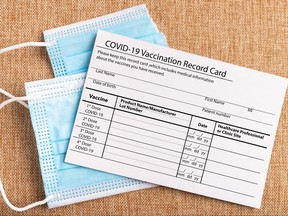 Being anti-vaccine is an unwise choice, but making a fake vaccine card is a crime.