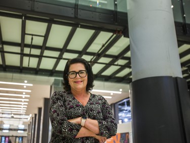 Metrolinx Head of Media and Public Relations Anne Marie Aikins, at the new Union Station Bay Concourse at Union Station in Toronto, Ont. on Wednesday July 28, 2021. Ernest Doroszuk/Toronto Sun/Postmedia