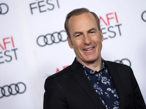In this file photo actor Bob Odenkirk attends The Disaster Artist Centerpiece Gala Presentation during AFI Film Festival, on November 12, 2017, in Hollywood, California.