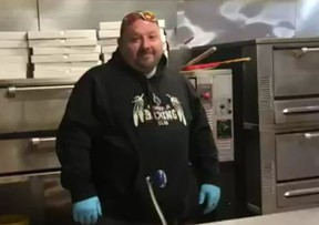Paul MacDonald, owner of Belly Busters Pizza and Donair
