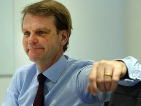 Former immigration minister Chris Alexander is pictured at the Toronto Sun office on April 18, 2017.