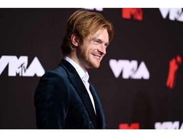 NEW YORK, NEW YORK - SEPTEMBER 12: Finneas attends the 2021 MTV Video Music Awards at Barclays Center on September 12, 2021 in the Brooklyn borough of New York City.