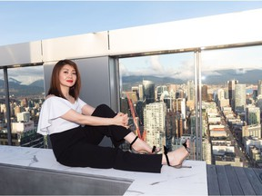 Anyone who wants to ban foreign buyers is 'against capitalism,' says Layla Yang, one of Metro Vancouver's leading realtors of luxury properties. She is marketing this $13-million downtown penthouse for Westbank's ritzy Vancouver House.