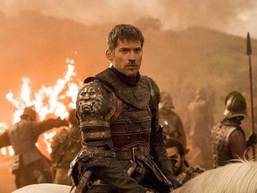 """This file image released by HBO shows Nikolaj Coster-Waldau as Jaime Lannister in an episode of """"Game of Thrones."""""""