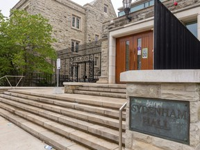 Sydenham Hall, a residence at Western University in London. Mike Hensen/The London Free Press