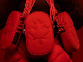 Team Canada x Lululemon's Future Legacy Bag is pictured in this handout photo